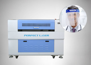 Face Shield PET Sheet 0.8A 100w Laser Engraving Machine 60000mm/s